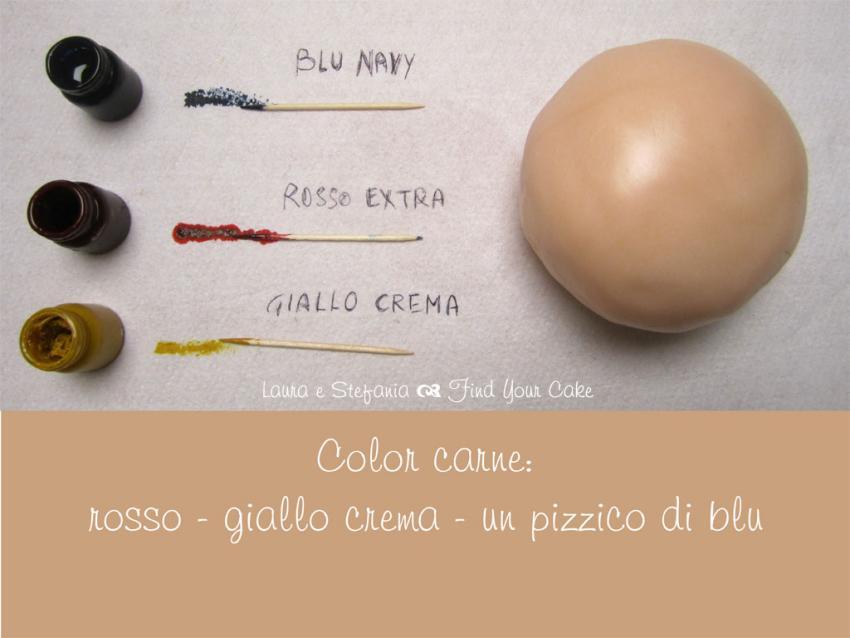 Video Pasta Di Zucchero Color Carne Find Your Cake