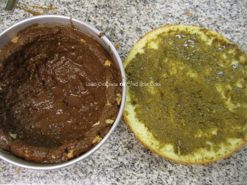 Zuccotto al pistacchio find your cake for Decorazione zuccotto