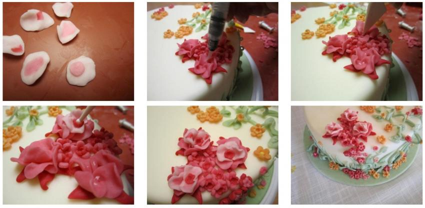 Decorare una base di polistirolo per pasqua con fiori e uova find your cake - Decorare le uova per pasqua ...
