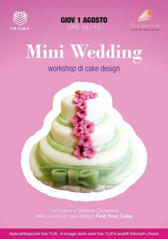 Workshop Mini wedding cakes