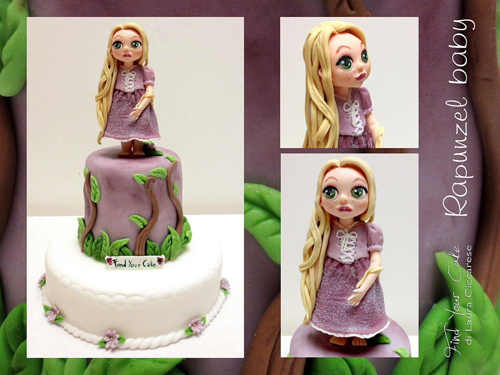 Disney Tangled Baby Cake Topper Animators Collection Version