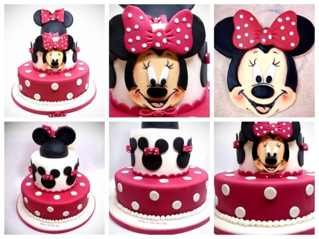 Cake topper Minnie – Gallery