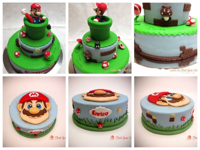 Super Mario cake topper – Gallery